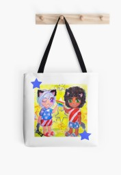 Redbubble catboy bag.